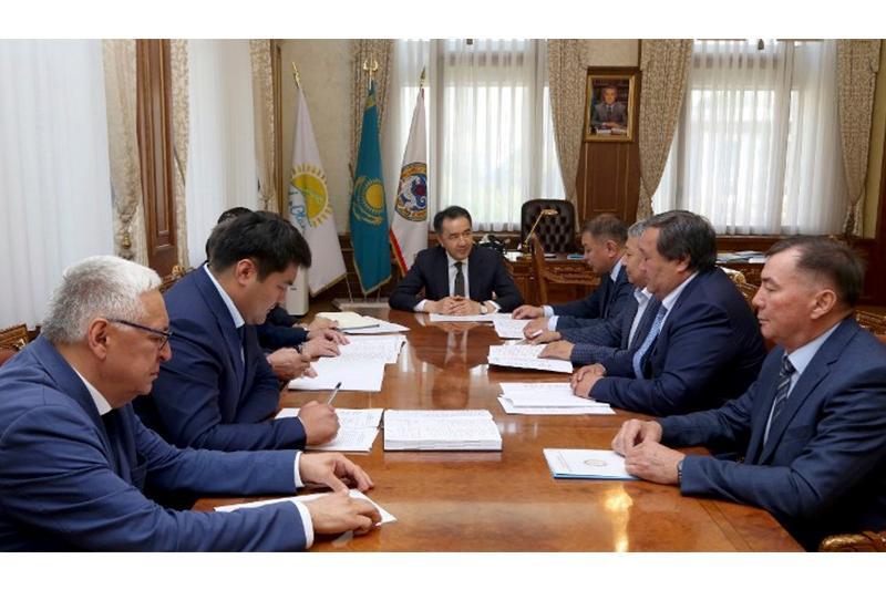 Аким Алматы провел совещание по вопросам энергобезопасности города