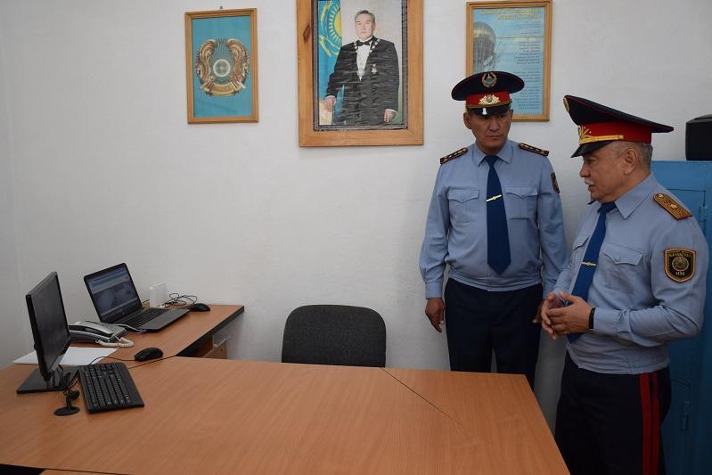 Современные участковые пункты полиции появляются в селах Акмолинской области