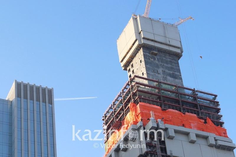 Аким столицы поручил решить проблемные вопросы по проекту Абу-Даби Плаза