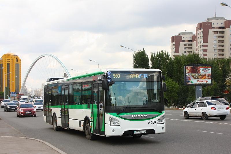 О субсидировании общественного транспорта в столице рассказал Алтай Кульгинов