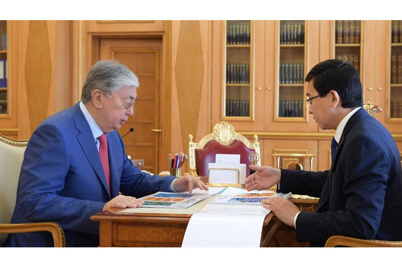 Глава государства принял министра образования и науки РК