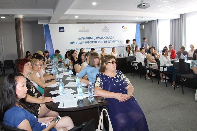 Сельских бизнес-леди обучают финансовой грамотности в СКО