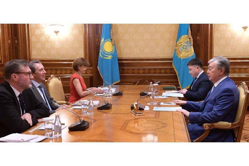 Касым-Жомарт Токаев встретился с вице-президентом Всемирного банка