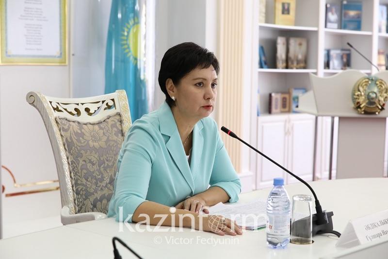 政府副总理会见联合国人口基金驻哈萨克斯坦代表