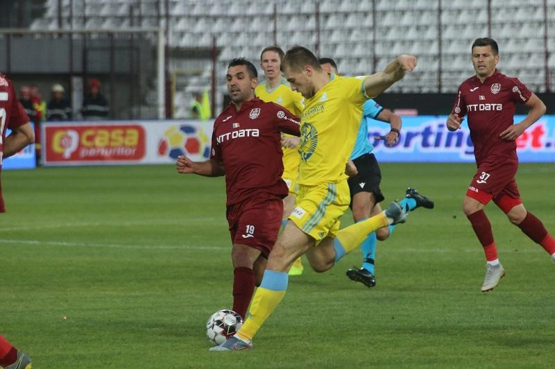 Astana tumbles out of UEFA Champions League