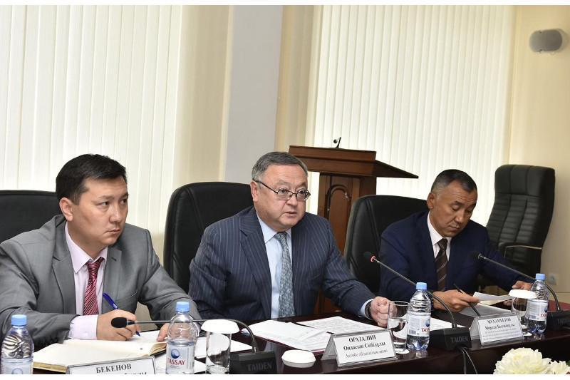 Ондасын Уразалин: Инвесторам будет оказана всесторонняя поддержка