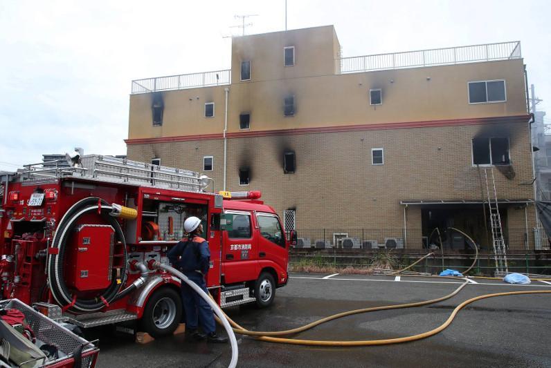 日本京都动画纵火案死者增至33个