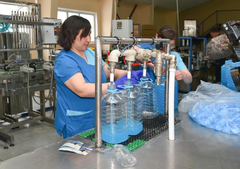 Фабрику бытовой химии запустили в СКО