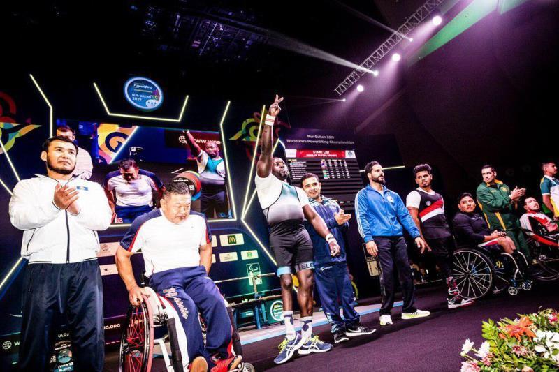 Елордадағы пара пауэрлифтингтен әлем чемпионаты: 3 әлемдік рекорд орнатылды