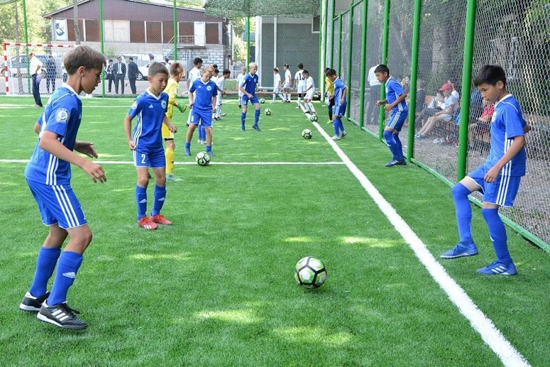 Акмолинские судьи построили спортивную площадку в Кокшетау