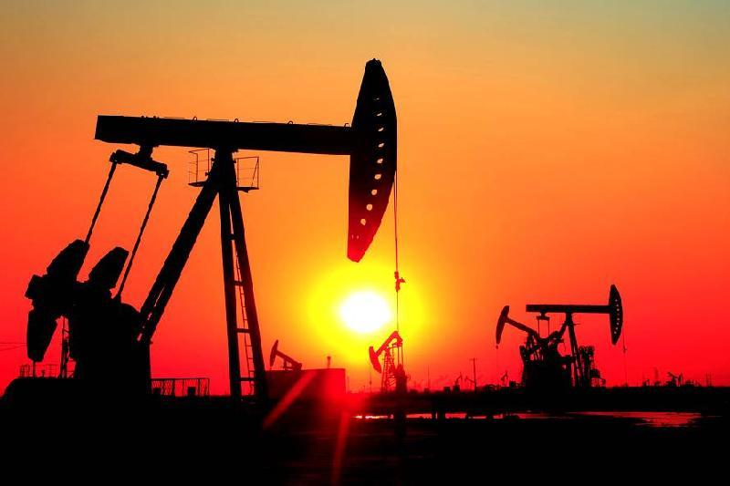 Brent crude down $1