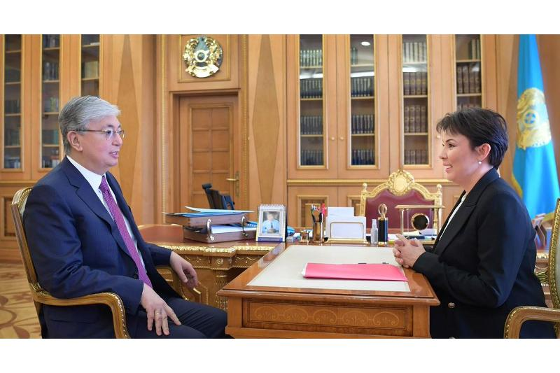 Kassym-Jomart Tokayev comments on appointment of Aruzhan Sain