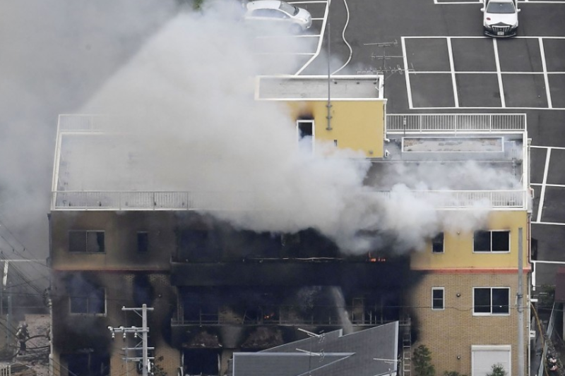 33 dead after man sets fire to Kyoto anime studio