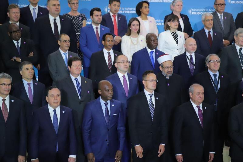 阿巴耶夫出席在美召开的促进宗教自由部长级会议