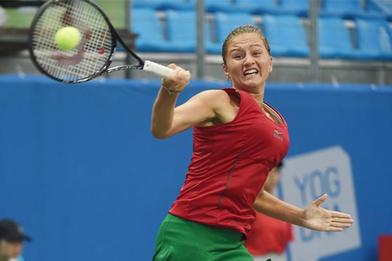 Belarus' Iryna Shymanovich into 2019 ITF Kazakhstan 05A semifinal