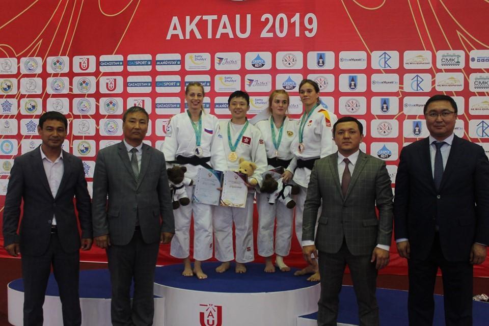 柔道亚洲公开赛首日:哈萨克斯坦代表团收获3枚金牌