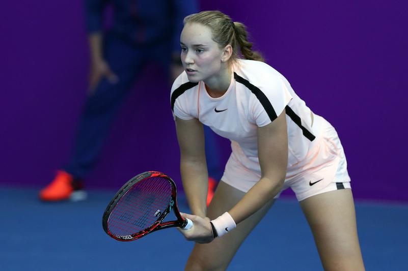 Теннис: Елена Рыбакина Бухарест турнирінің жартылай финалына шықты