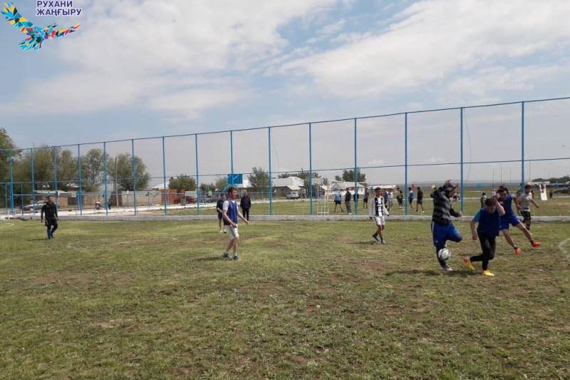 Проект «Туған жер»: количество спортивных объектов увеличивается в Туркестанской области