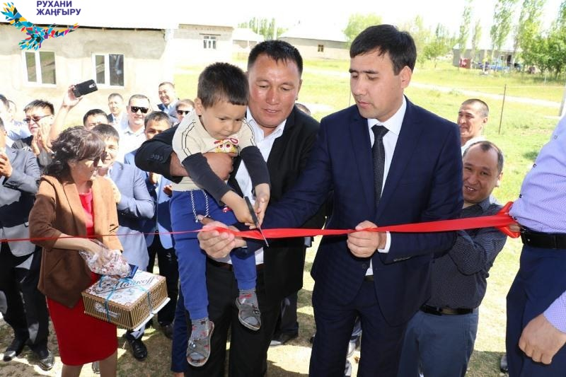Туған жер: Түркістанда төрт айда 19 нысан пайдалануға берілді