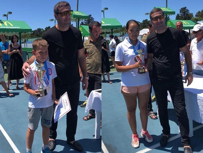 5 медалей завоевали атырауские теннисисты в Грузии