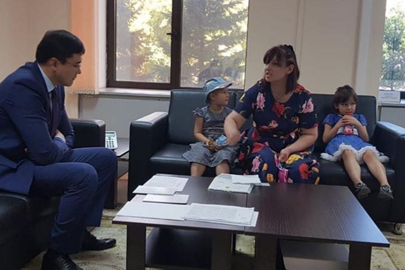 В столичном акимате открылся кабинет для приема граждан