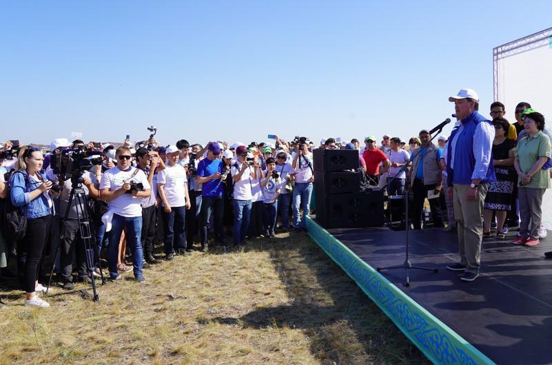 Премьер-Министр РК дал старт экологической акции «Бірге – Таза Қазақстан»