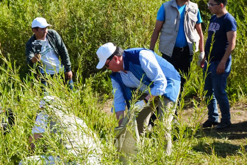 Prime Minister gives start to Together – Clean Kazakhstan campaign
