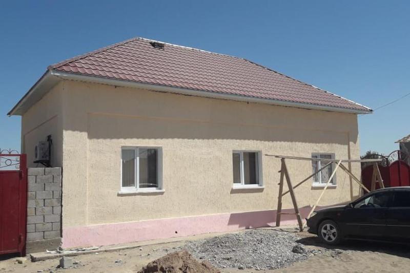 1620 домов восстановили в Арыси