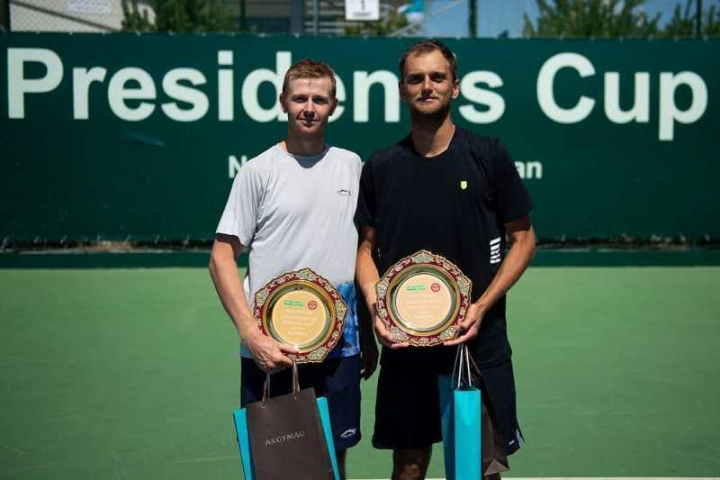 Теннис: Голубев пен Недовесов Нұр-Сұлтан турнирінде жеңімпаз атанды