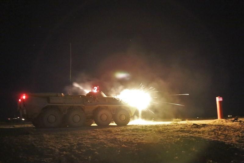 В воинских частях идет процесс интенсивной боевой подготовки