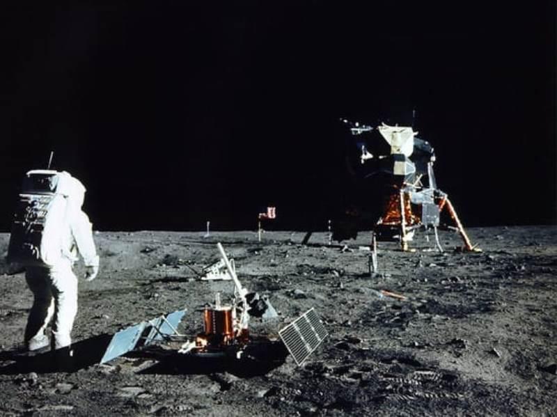 50 лет назад человек впервые высадился на Луну