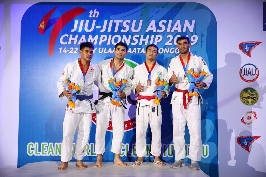 Қазақстан джиу-джитсудан Азия чемпионатында үздік үштікке кірді