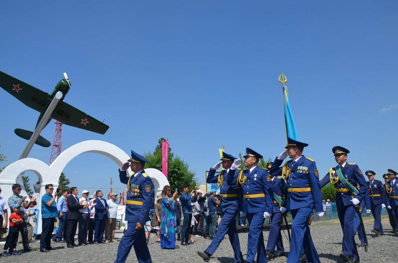 100-летний юбилей Нуркена Абдирова отпраздновали в Карагандинской области