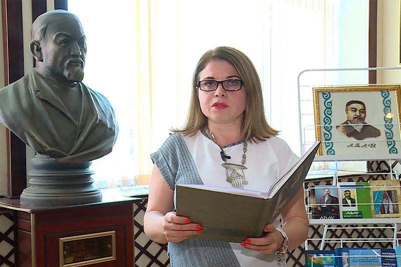 Бакинский госуниверситет поддержал эстафету #Аbai175