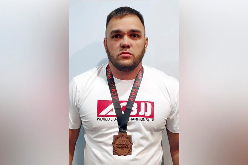 Байконурский спортсмен стал бронзовым призером ЧМ по бразильскому джиу-джитсу в Москве