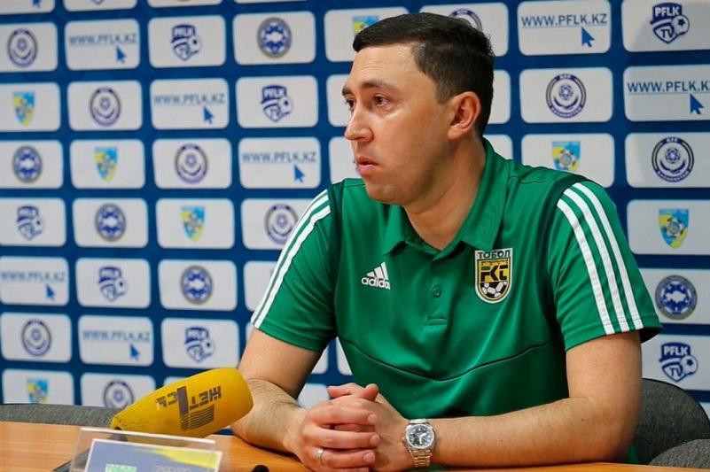 Костанайский «Тобол» вновь остался без главного тренера