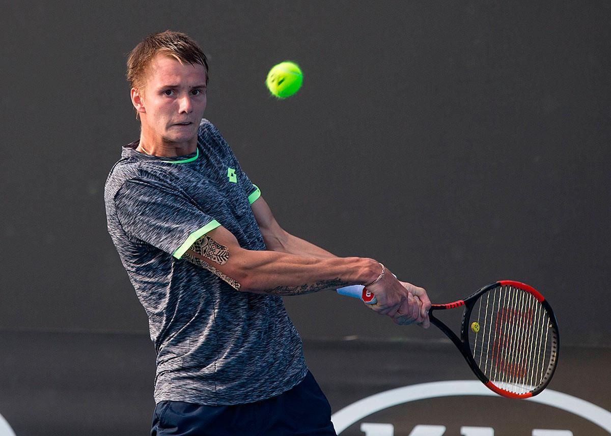 Теннисист Александр Бублик пробился в финал турнира ATP