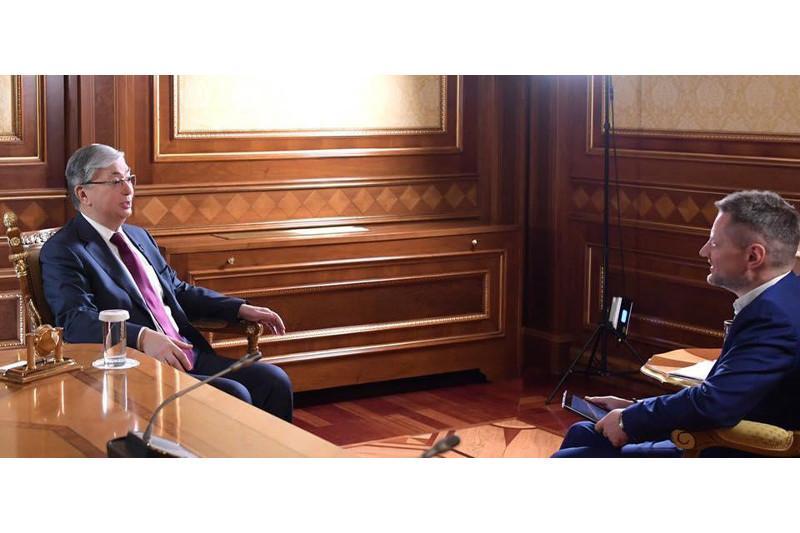 Как привыкал к должности Президента, рассказал Касым-Жомарт Токаев