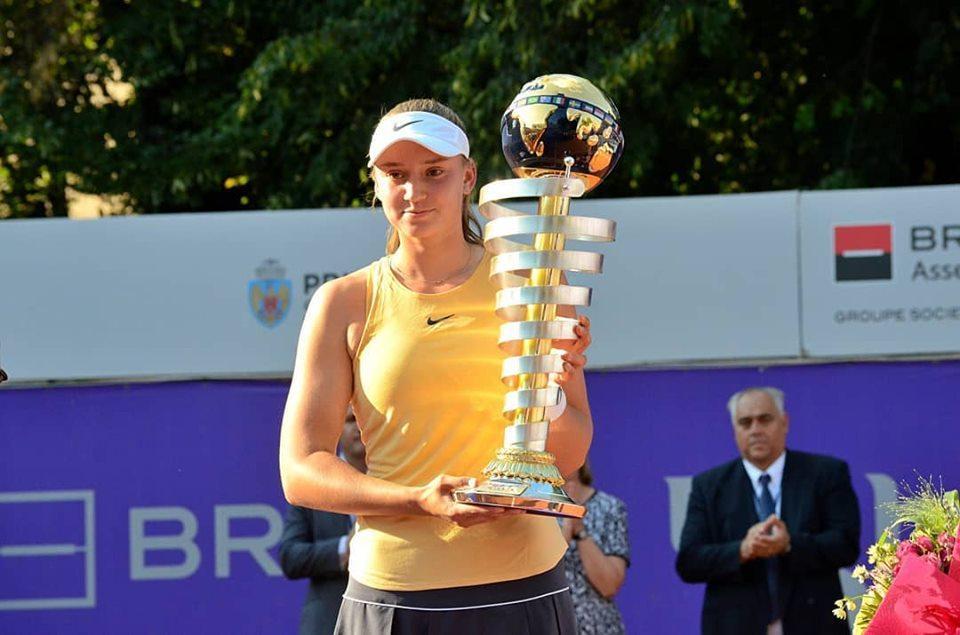 Теннис: Елена Рыбакина Бухарест турнирінің жеңімпазы атанды