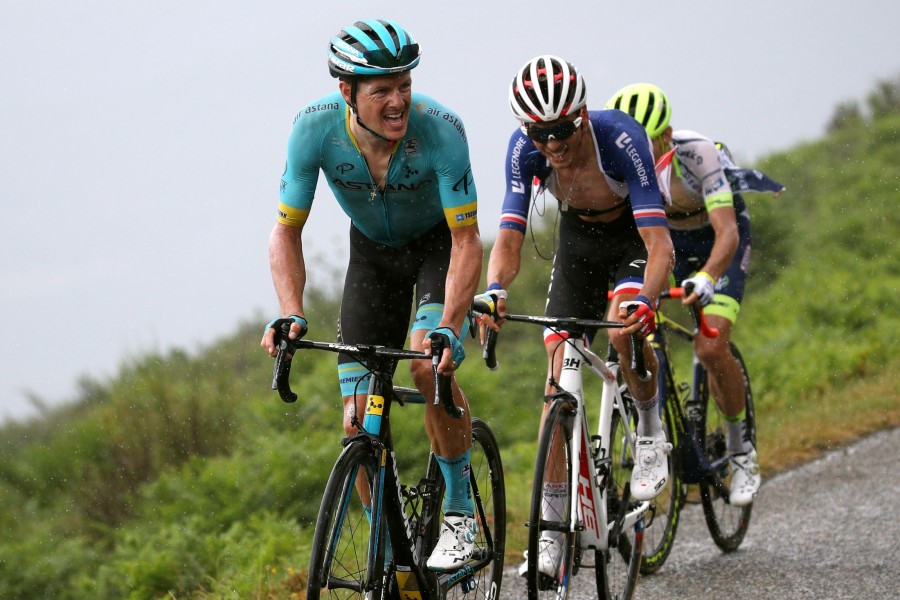 Astana's Fuglsang moves into 9th overall at Tour de France Stage 15
