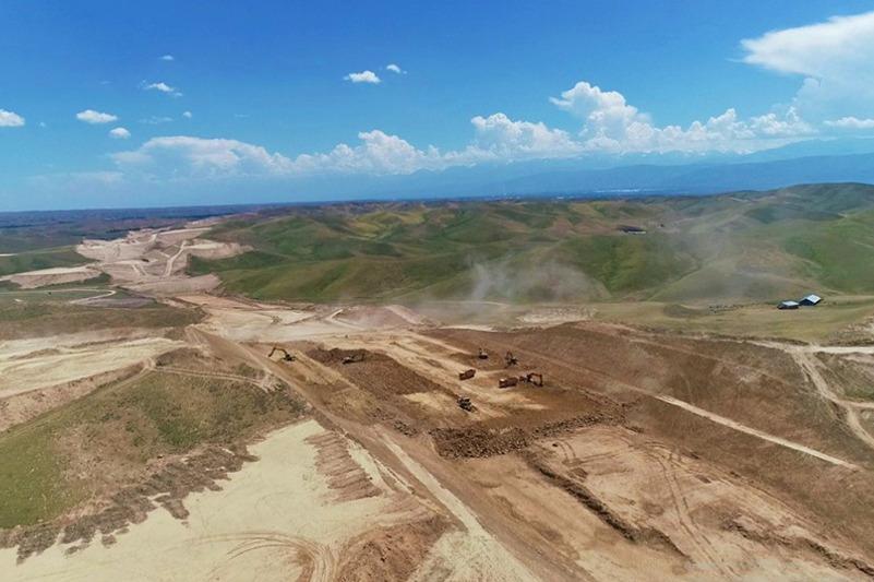 1200 человек задействовано в реконструкции автодороги Узынагаш – Отар