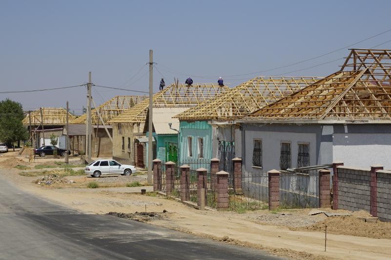 Восстановительными работами охвачены около 5 тысяч домов в Арыси