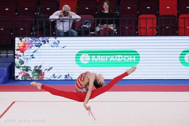 Эльжана Таниева стала четвертой на чемпионате мира по художественной гимнастике