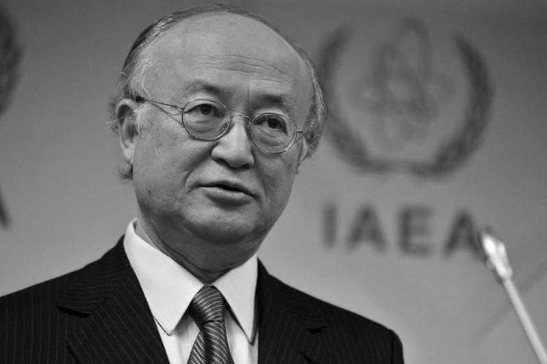 IAEA says chief Yukiya Amano has died