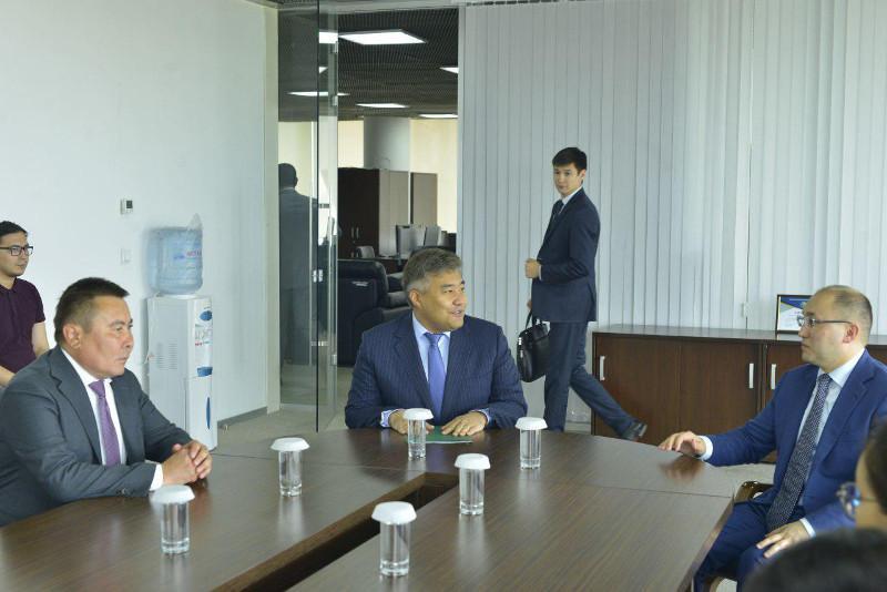 Дархан Кәлетаев Орталық коммуникациялар қызметінің жаңа басшысын таныстырды