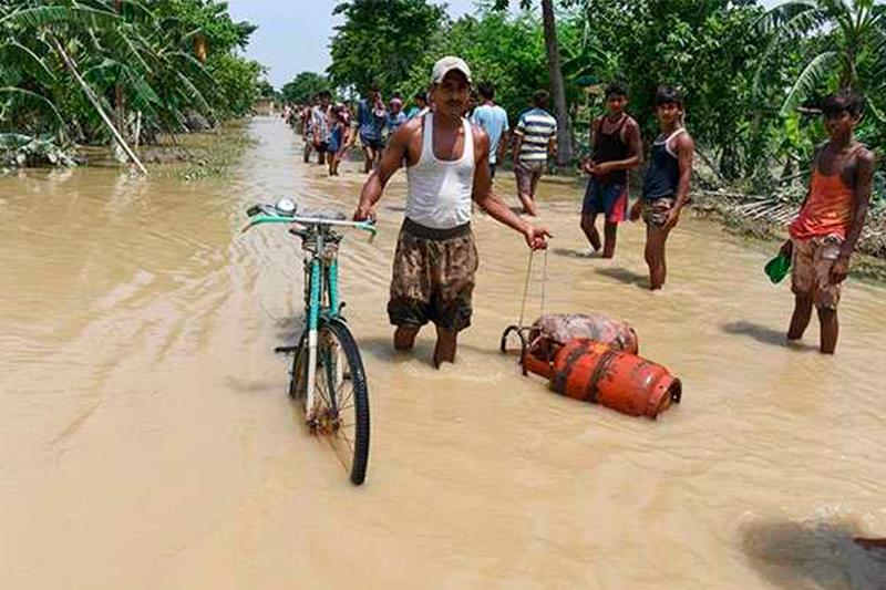 印度洪灾死亡人数已超过150人