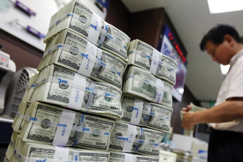 今日美元兑坚戈终盘汇率1:384.37