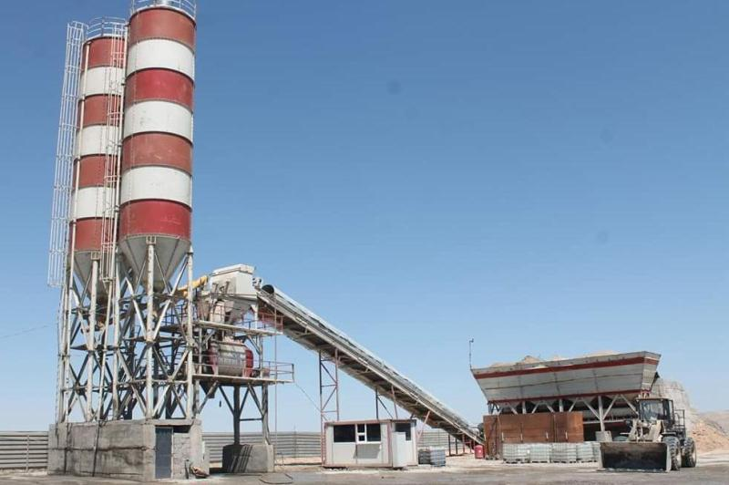 New concrete plant starts operating in Turkestan region