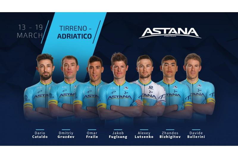 Astana Pro Team announces roster for Adriatica Ionica Race 2019