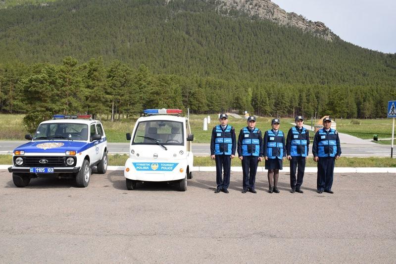 Более 250 отдыхающих  получили помощь сотрудников туристской полиции Бурабая и Зеренды
